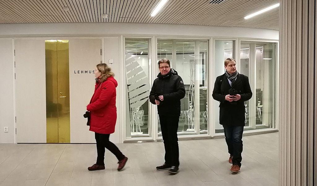 Tampereen pääkirjasto Metso.