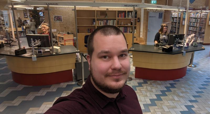 Timo Kuru Kajaanissa.